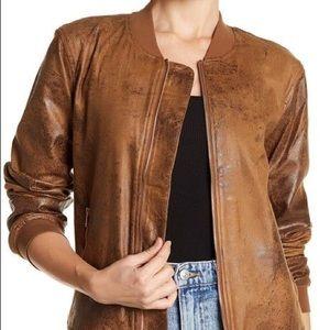 Dex faux suede jacket